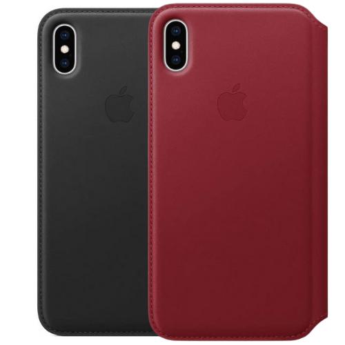 Apple Étui Folio en Cuir (pour iPhone XS - X )